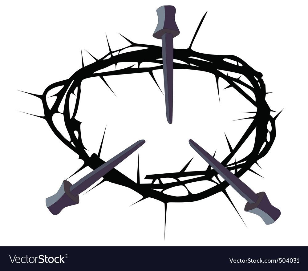 Crown of thorns vector | Price: 1 Credit (USD $1)