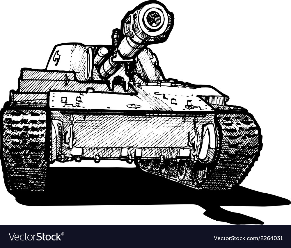 Heavy tank vector | Price: 1 Credit (USD $1)