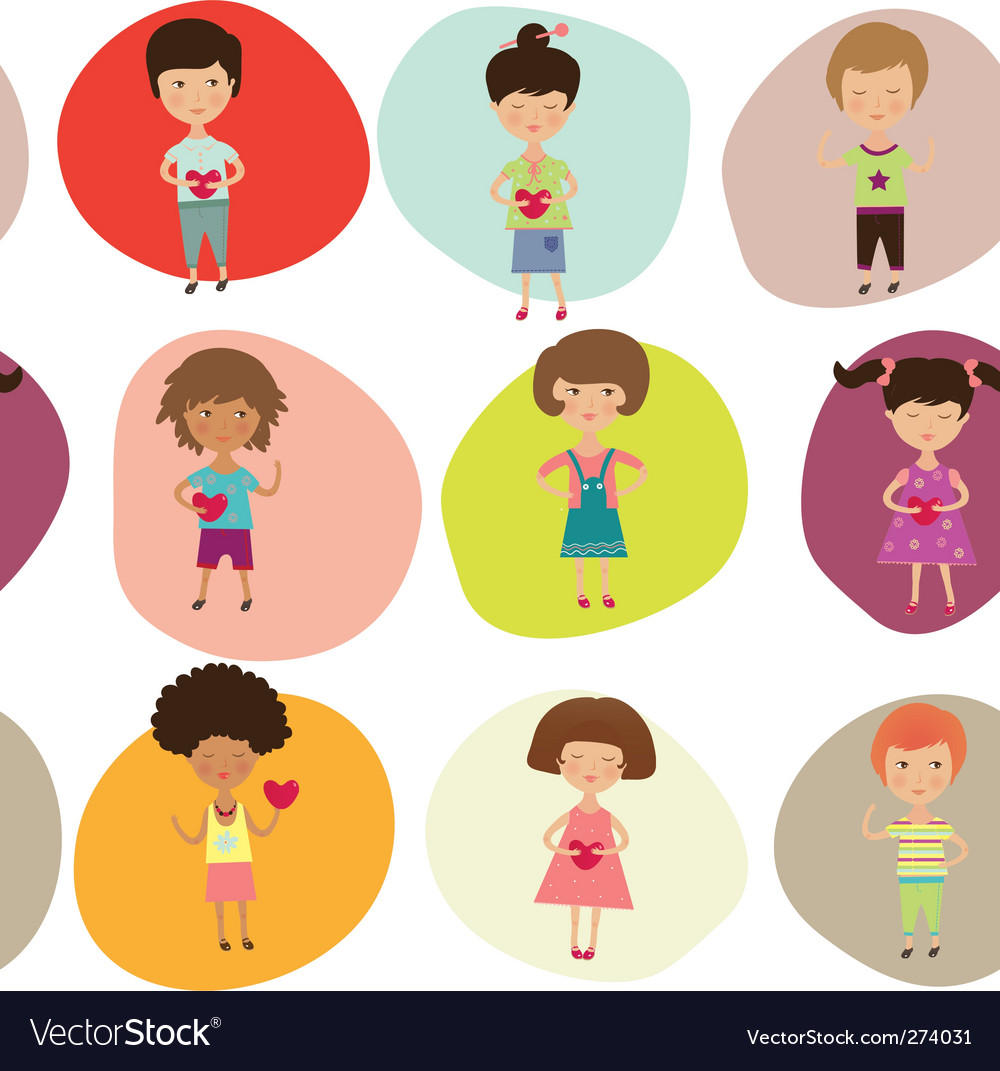 Kids background vector | Price: 3 Credit (USD $3)