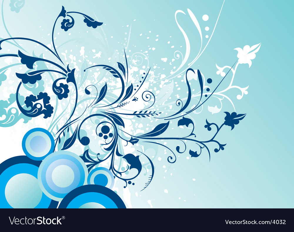 Flower graphic vector | Price: 1 Credit (USD $1)