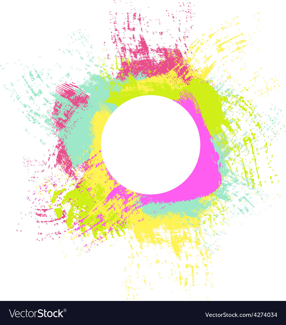 Colorful splash background vector | Price: 1 Credit (USD $1)