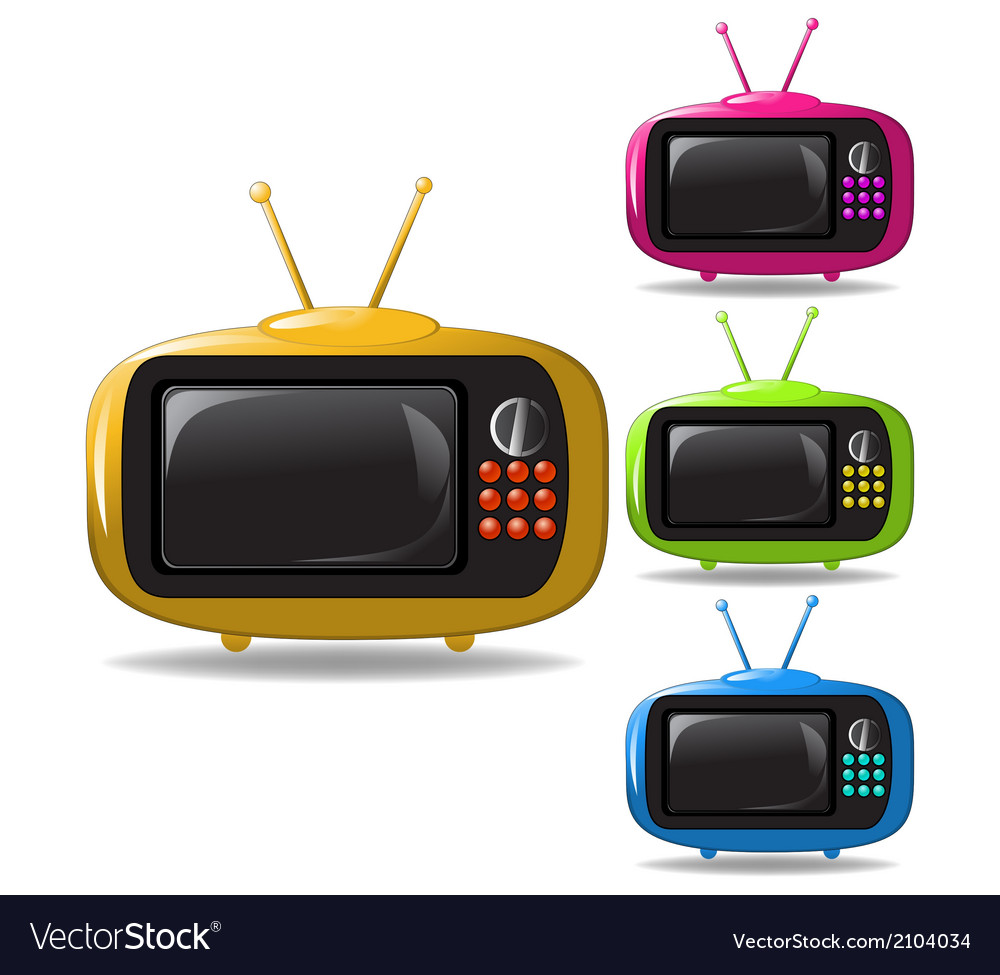 Some tv sets animation vector | Price: 1 Credit (USD $1)