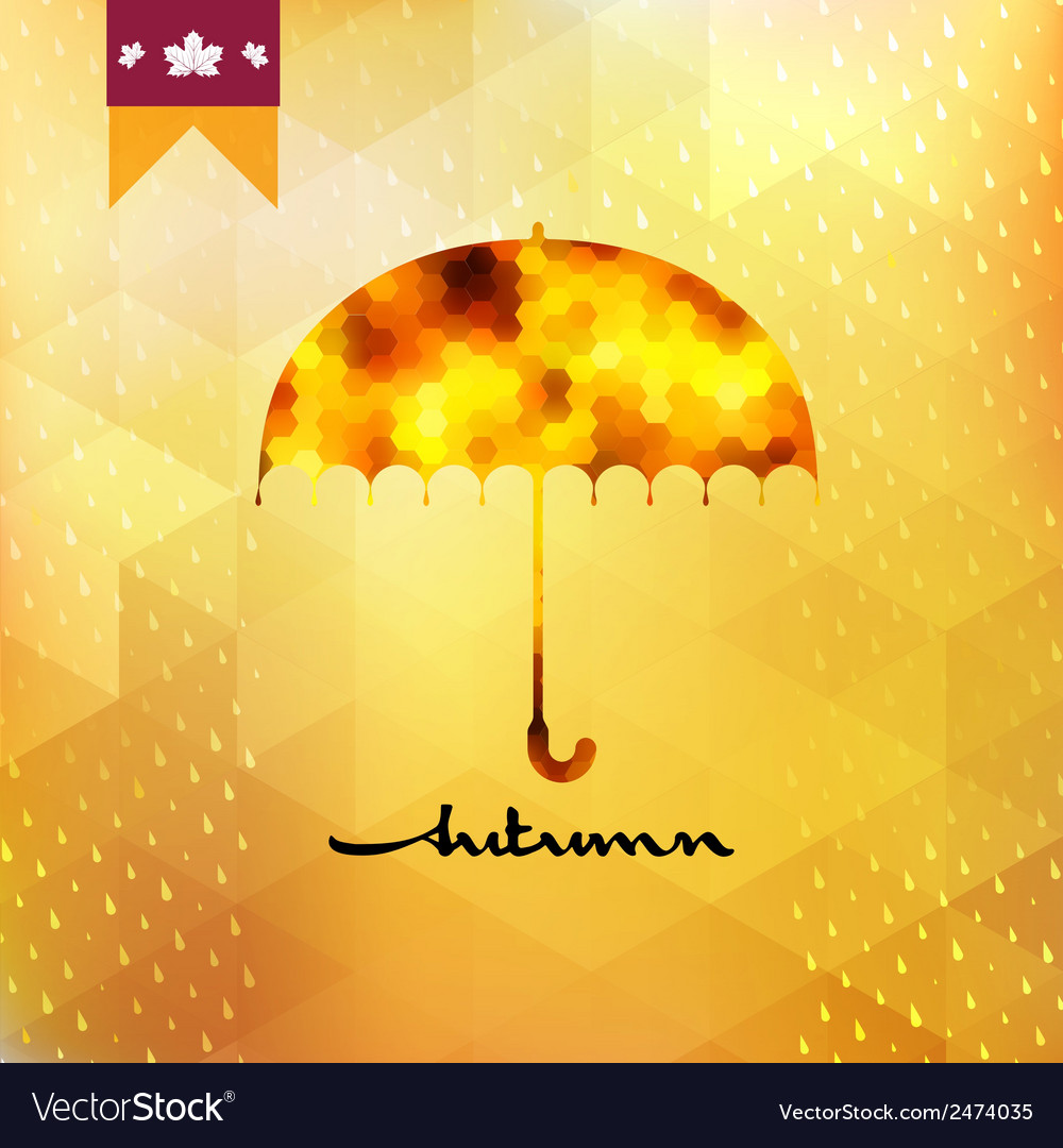 Background on theme autumn eps 10 vector | Price: 1 Credit (USD $1)