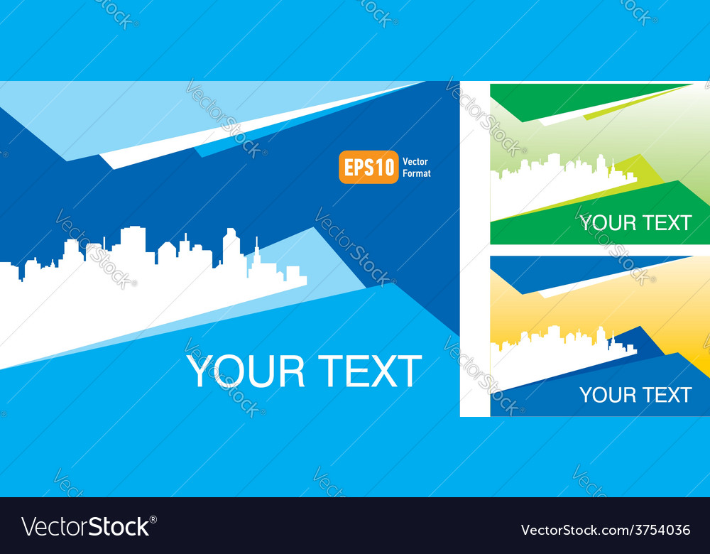 Abstract town and city ad background your text vector