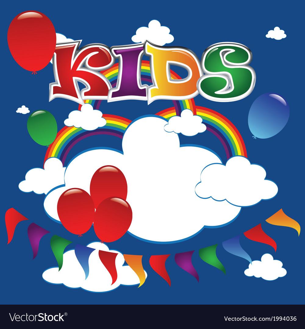 Kids 2 vector | Price: 1 Credit (USD $1)