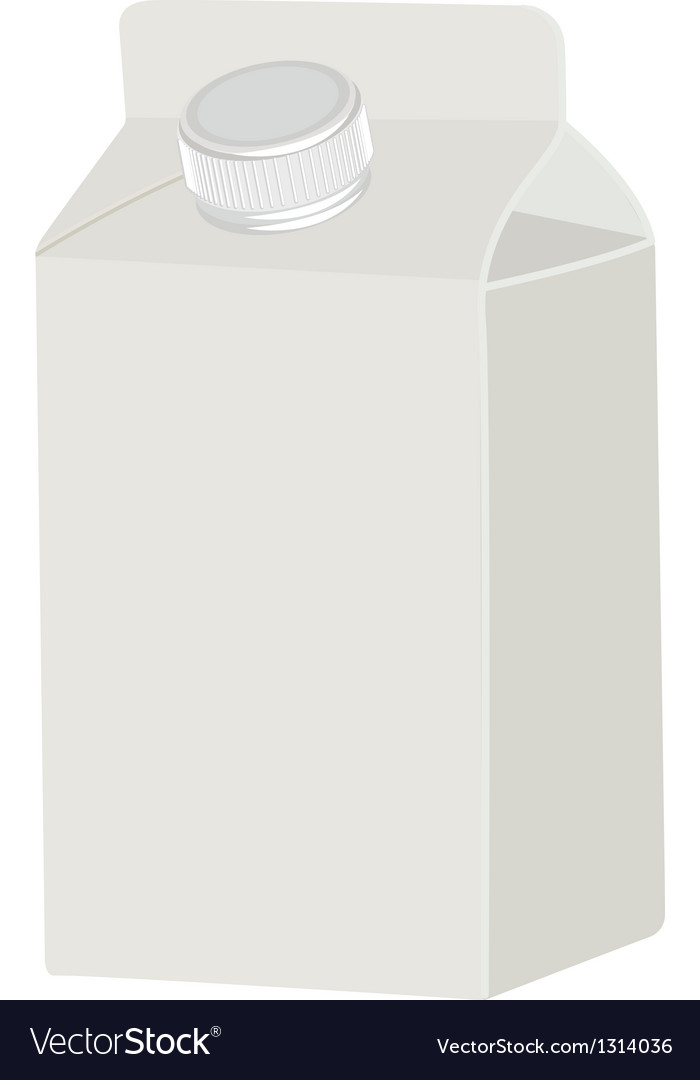 Milk blank white packing vector | Price: 1 Credit (USD $1)