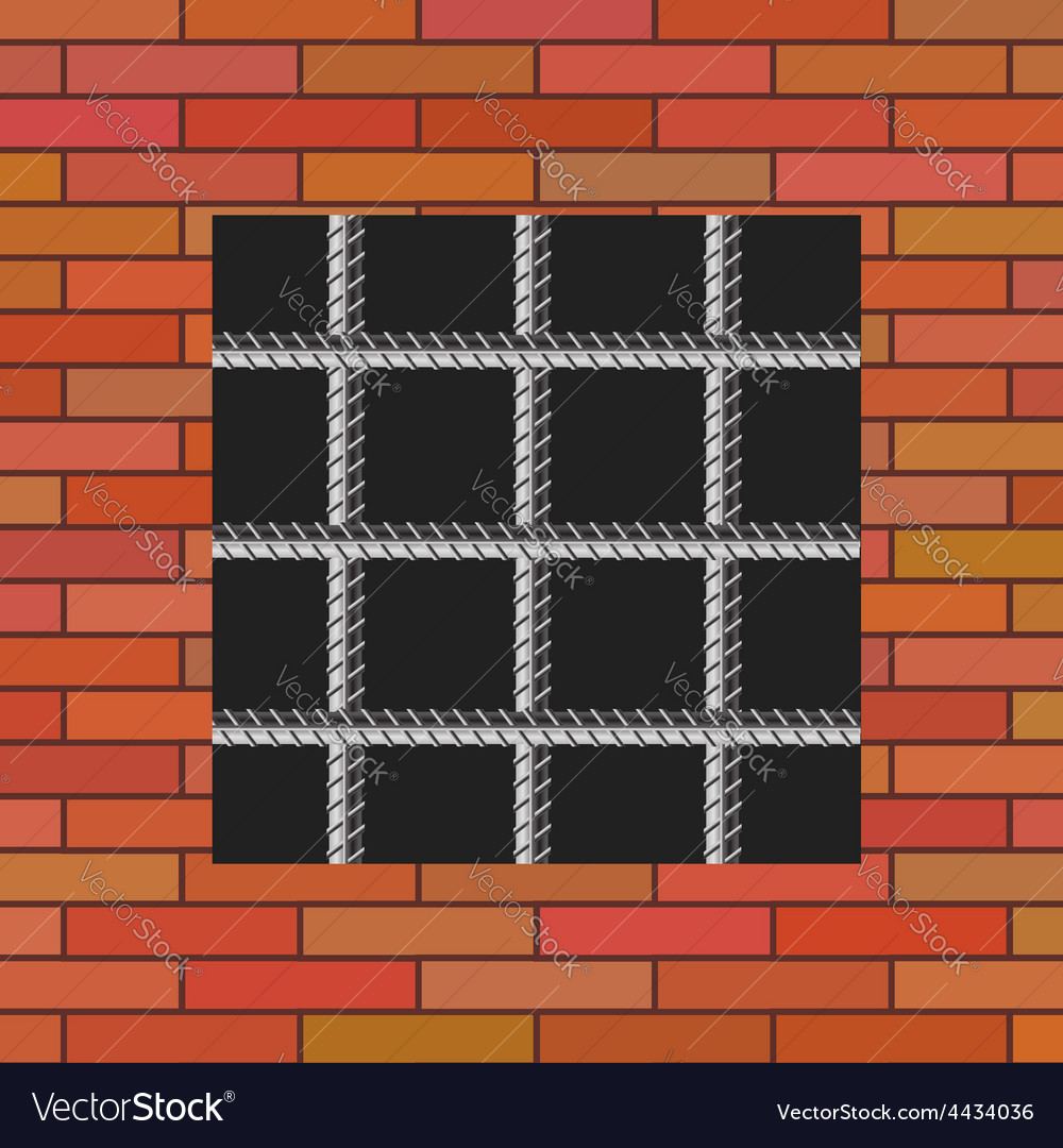 Prison wall vector | Price: 1 Credit (USD $1)
