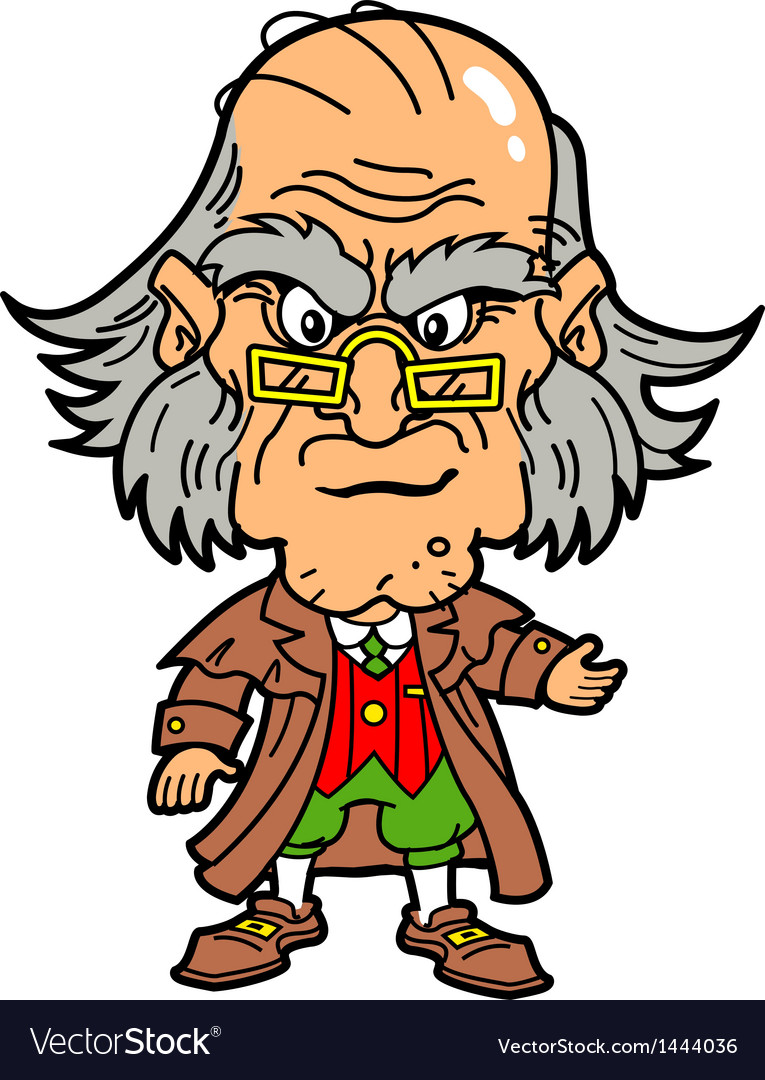 Scrooge vector | Price: 3 Credit (USD $3)