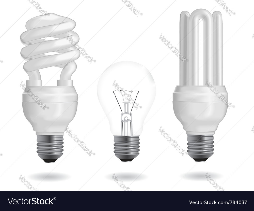Energy efficiency bulb vector | Price: 1 Credit (USD $1)