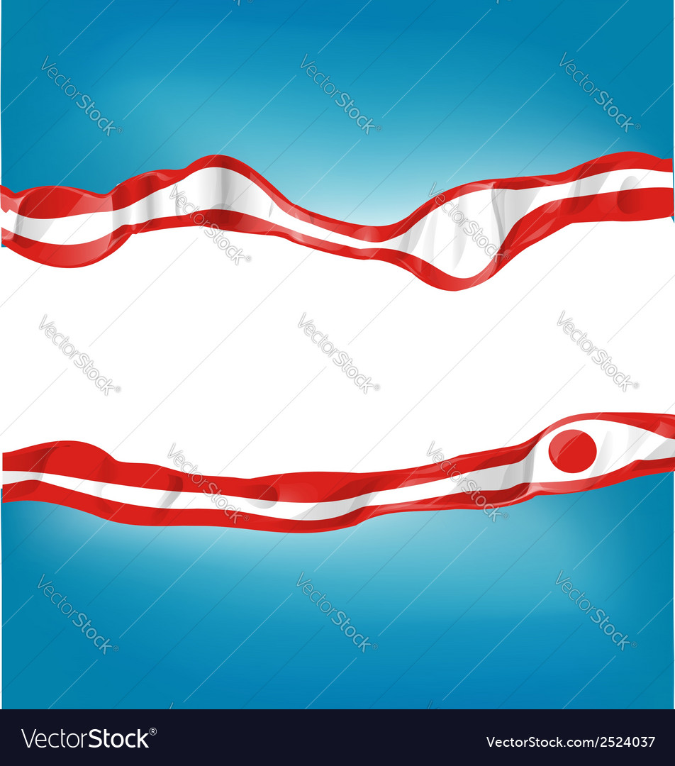 Japan flag on background vector | Price: 1 Credit (USD $1)
