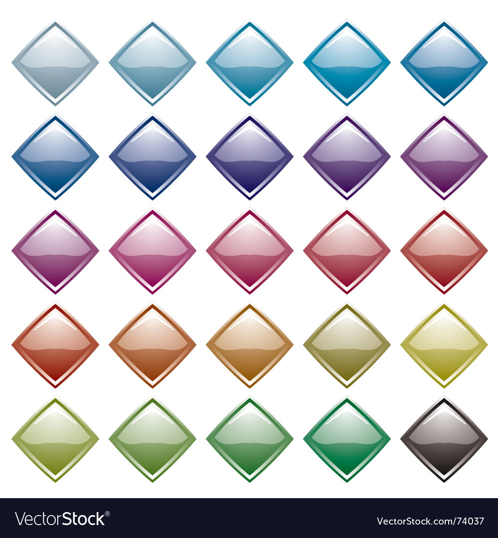 Rainbow diamond variation vector | Price: 1 Credit (USD $1)