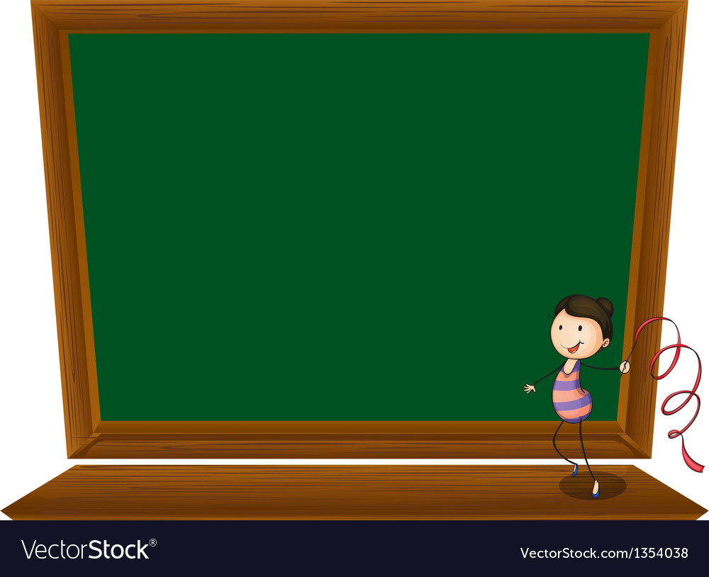 Empty blackboard vector | Price: 1 Credit (USD $1)