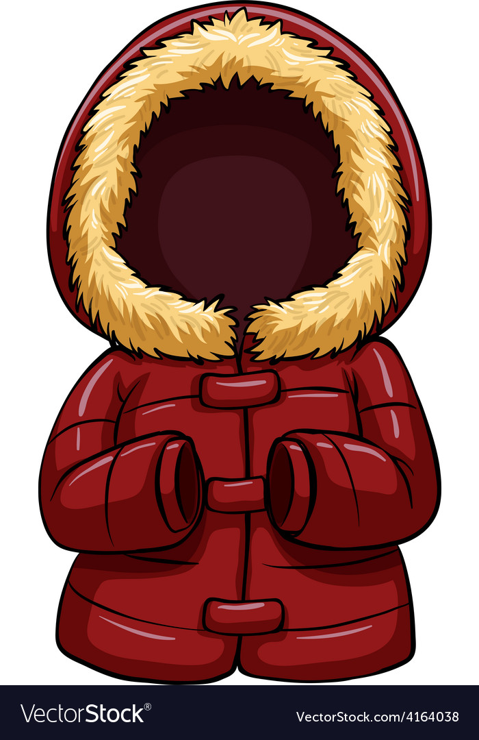 Red body warmer vector | Price: 1 Credit (USD $1)