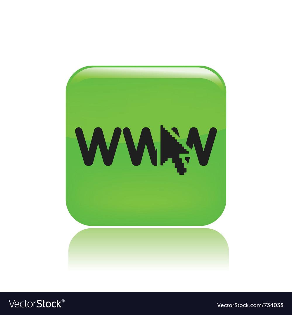 Www icon vector | Price: 1 Credit (USD $1)