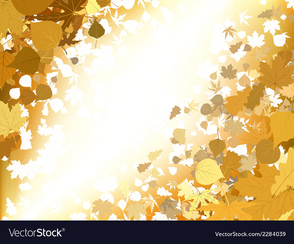 Autumn light background eps 8 vector | Price: 1 Credit (USD $1)