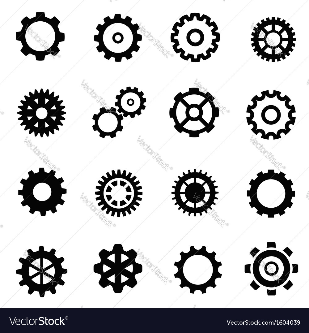 Gearwheel mechanism vector | Price: 1 Credit (USD $1)