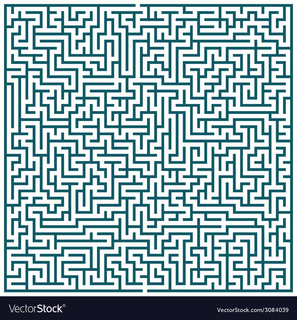 Maze pattern vector | Price: 1 Credit (USD $1)