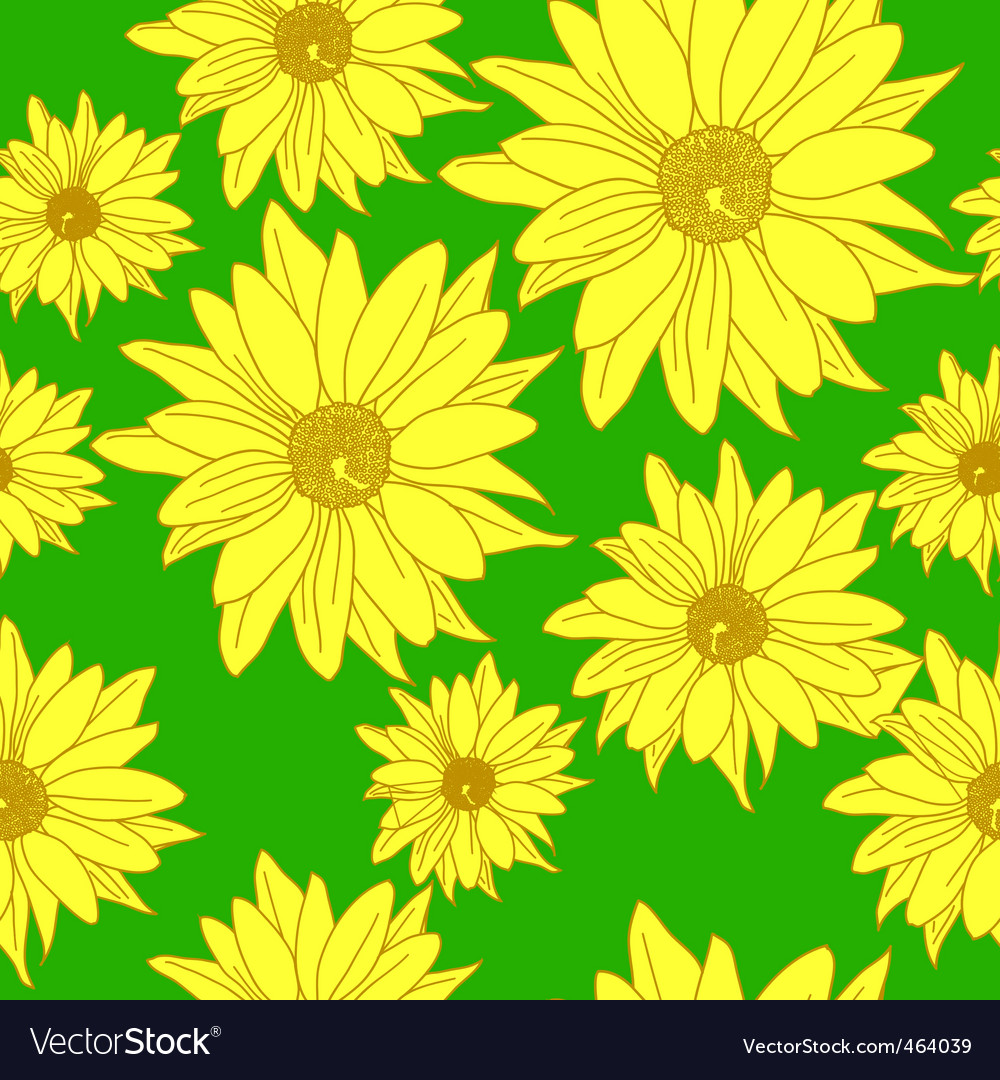 Seamless wallpaper with beautiful flowers vector   Price: 1 Credit (USD $1)