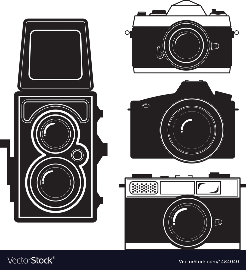 Camera vintage camera vector | Price: 1 Credit (USD $1)
