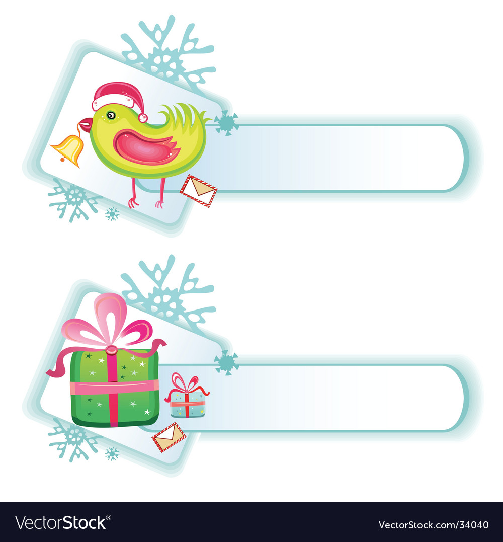 Cute christmas buttons vector   Price: 1 Credit (USD $1)
