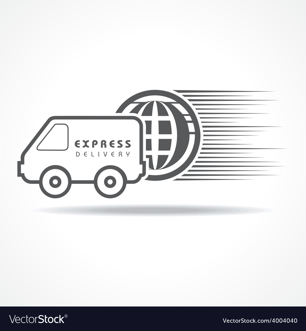 Express delivery concept for increase the sell vector | Price: 1 Credit (USD $1)