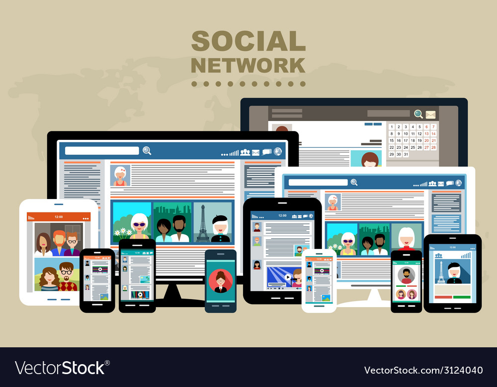 Internet communication vector   Price: 1 Credit (USD $1)
