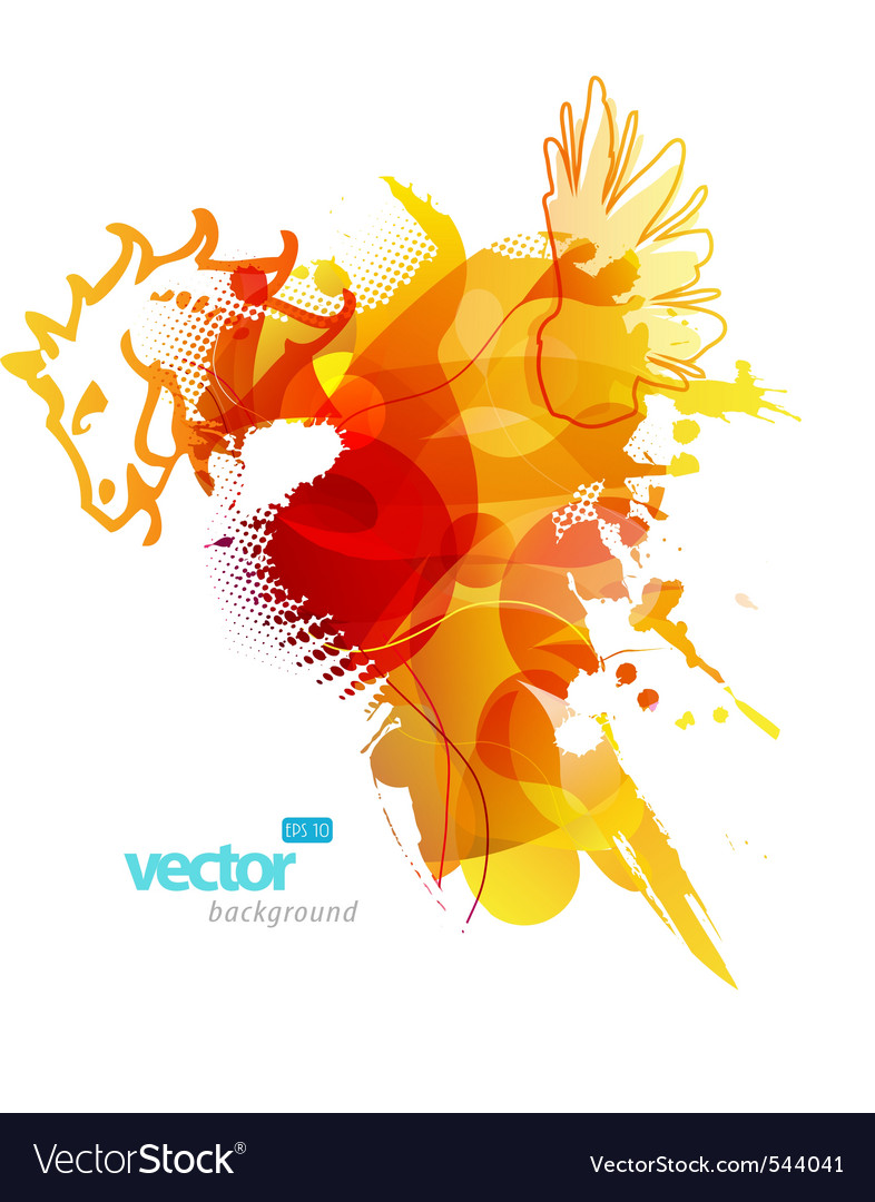 Artistic splash vector | Price: 1 Credit (USD $1)