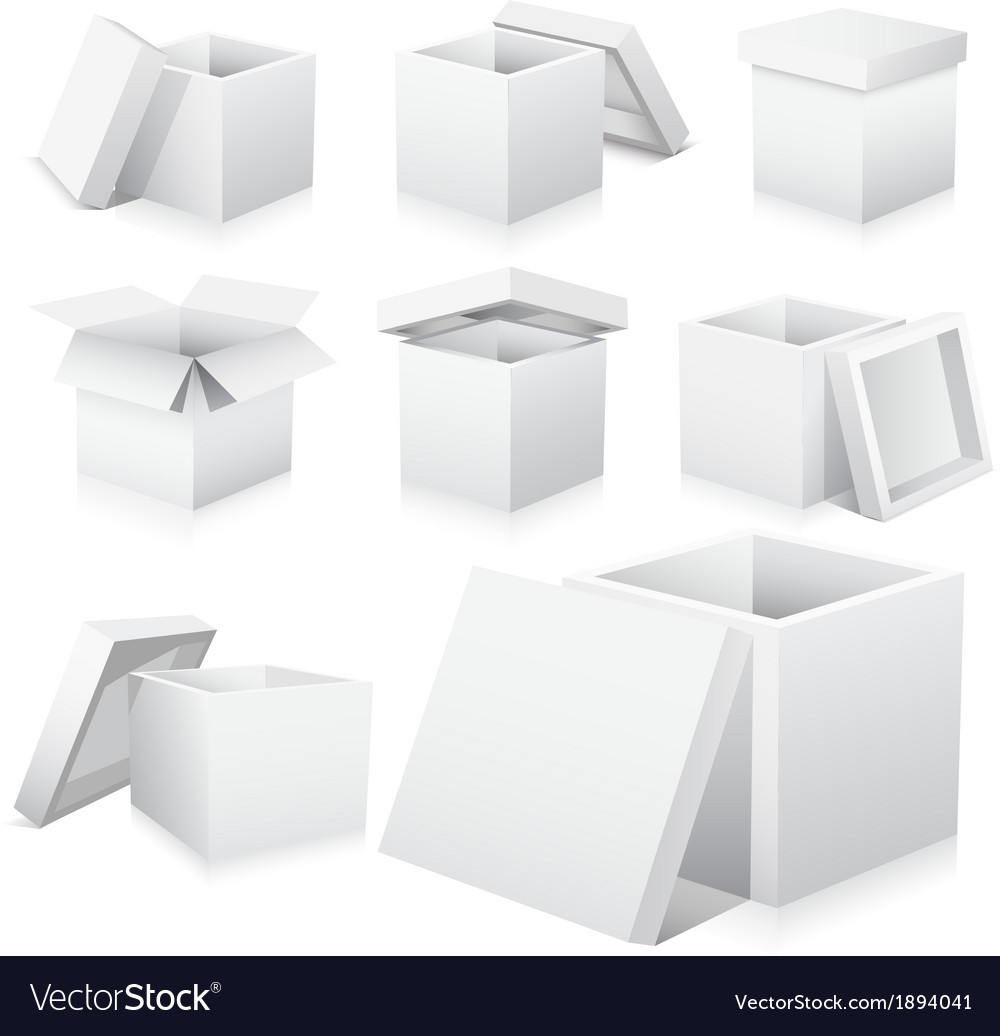 Boxes vector | Price: 1 Credit (USD $1)