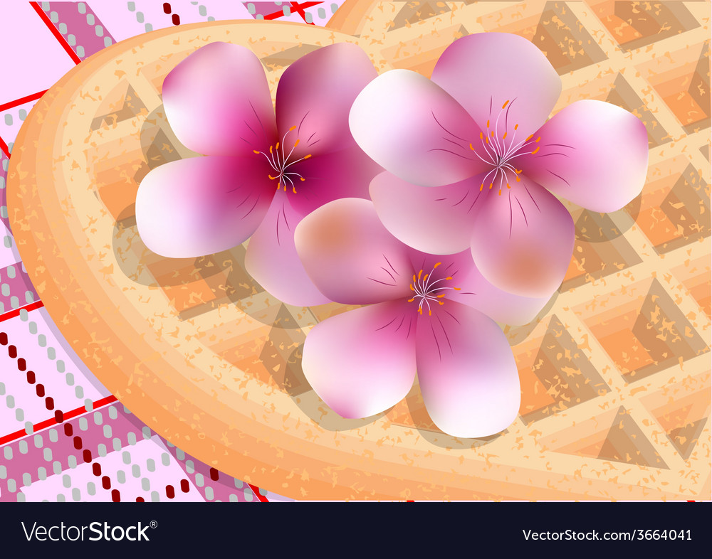 Cherry blossom and picnic vector   Price: 1 Credit (USD $1)