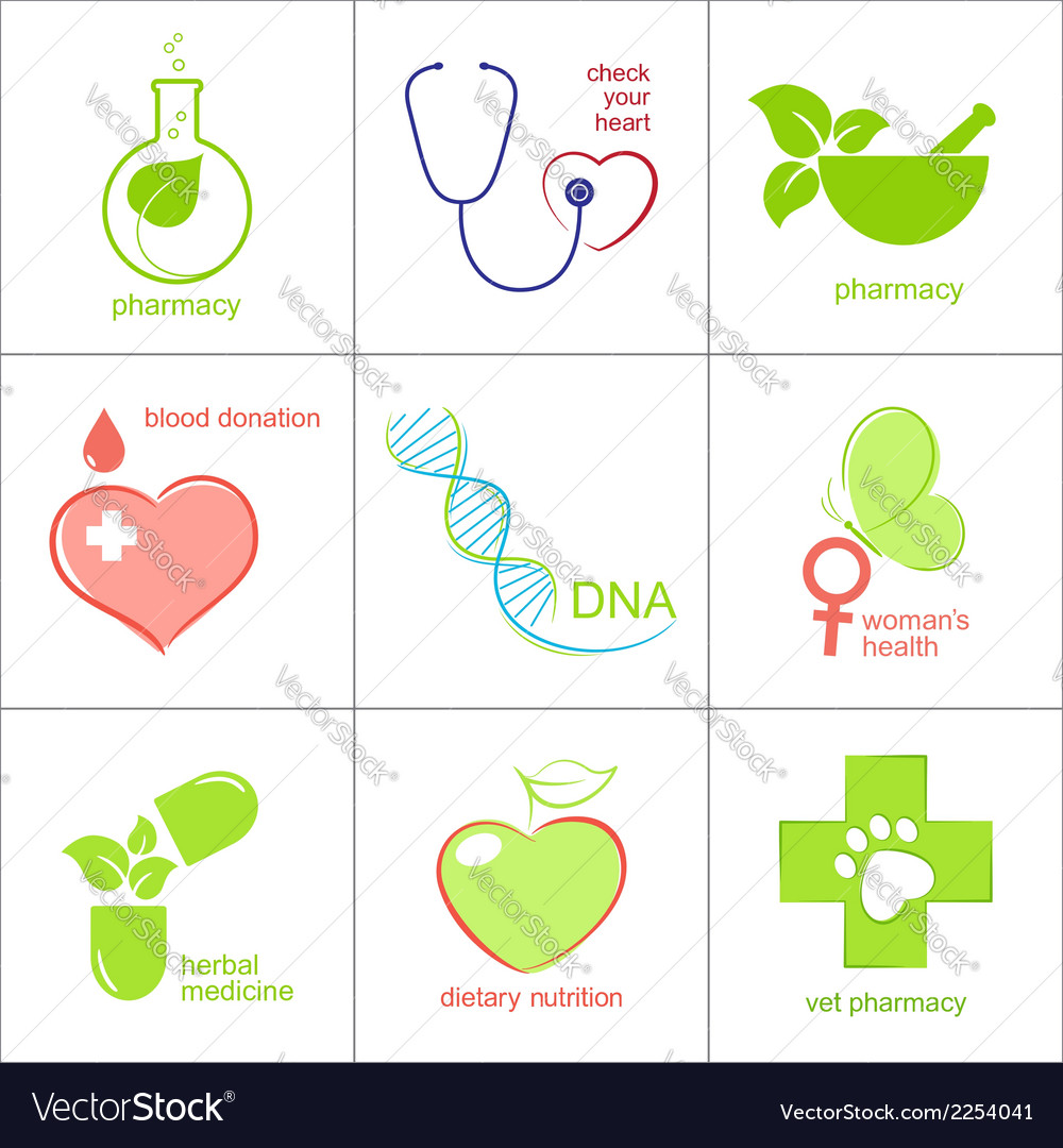 Health care icons vector | Price: 1 Credit (USD $1)