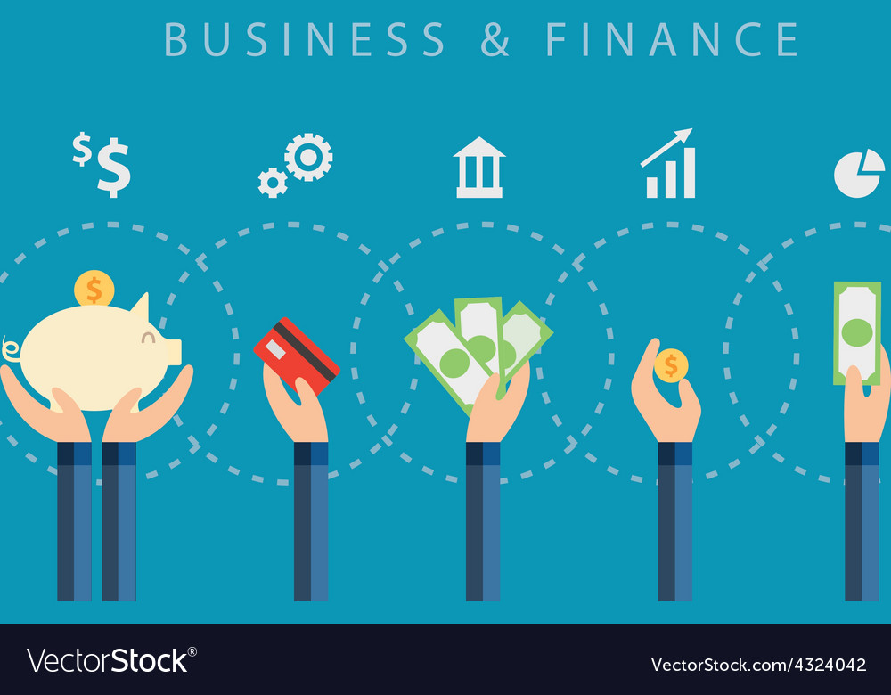 Business and finance background vector | Price: 1 Credit (USD $1)
