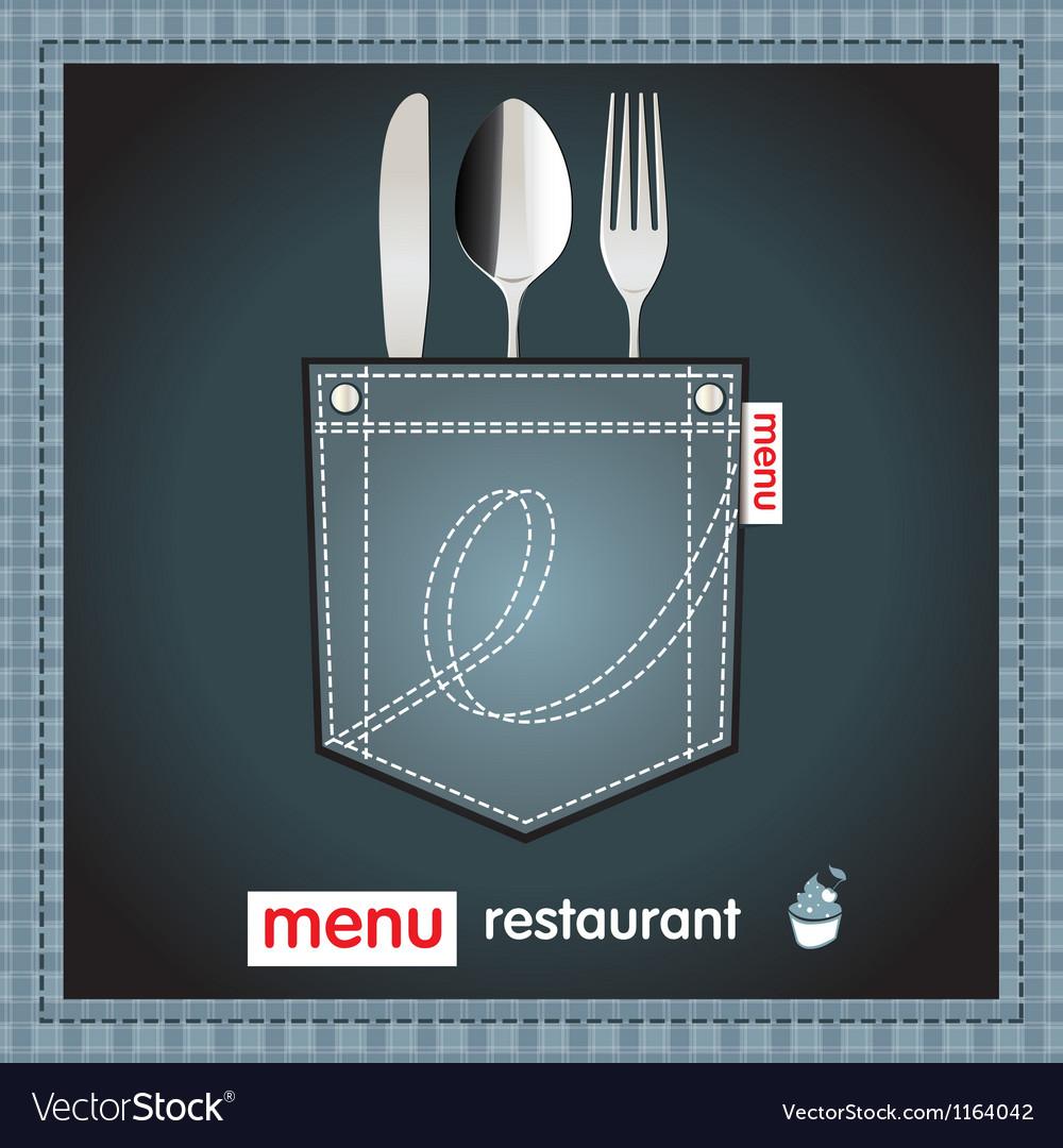 Menu restaurant design vector | Price: 1 Credit (USD $1)
