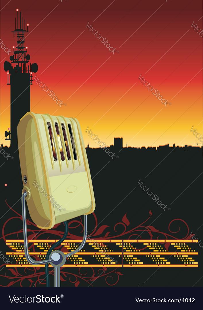 Radiobackground vector | Price: 3 Credit (USD $3)