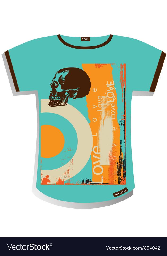 T shirt design vector