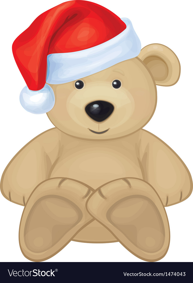 Bear xmas vector | Price: 1 Credit (USD $1)