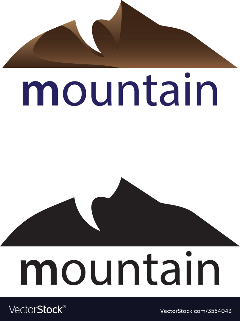 Mountain vector | Price: 1 Credit (USD $1)