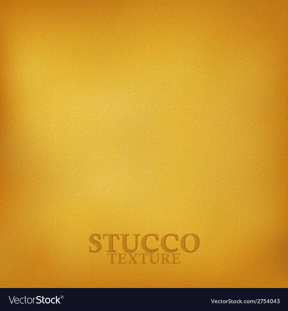 Ochre stucco texture vector | Price: 1 Credit (USD $1)