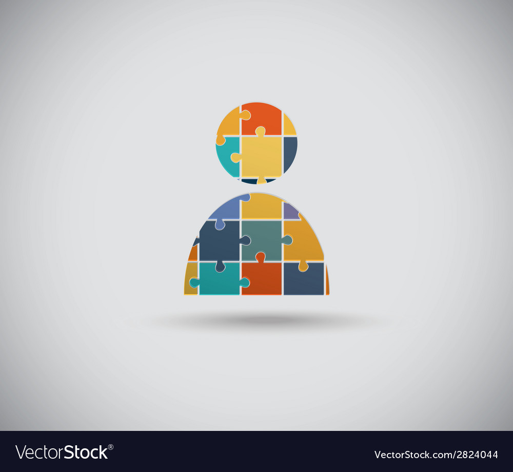Abstract human body vector | Price: 1 Credit (USD $1)