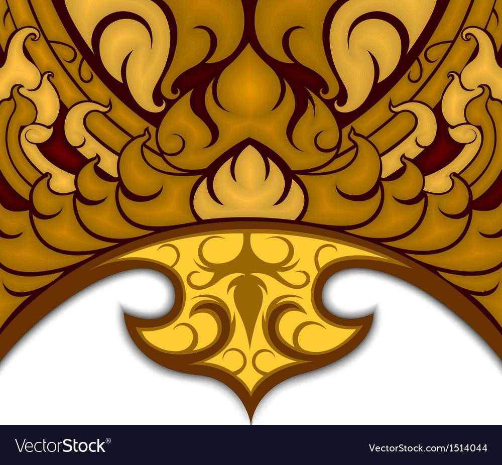 Art pattern thai style vector | Price: 1 Credit (USD $1)