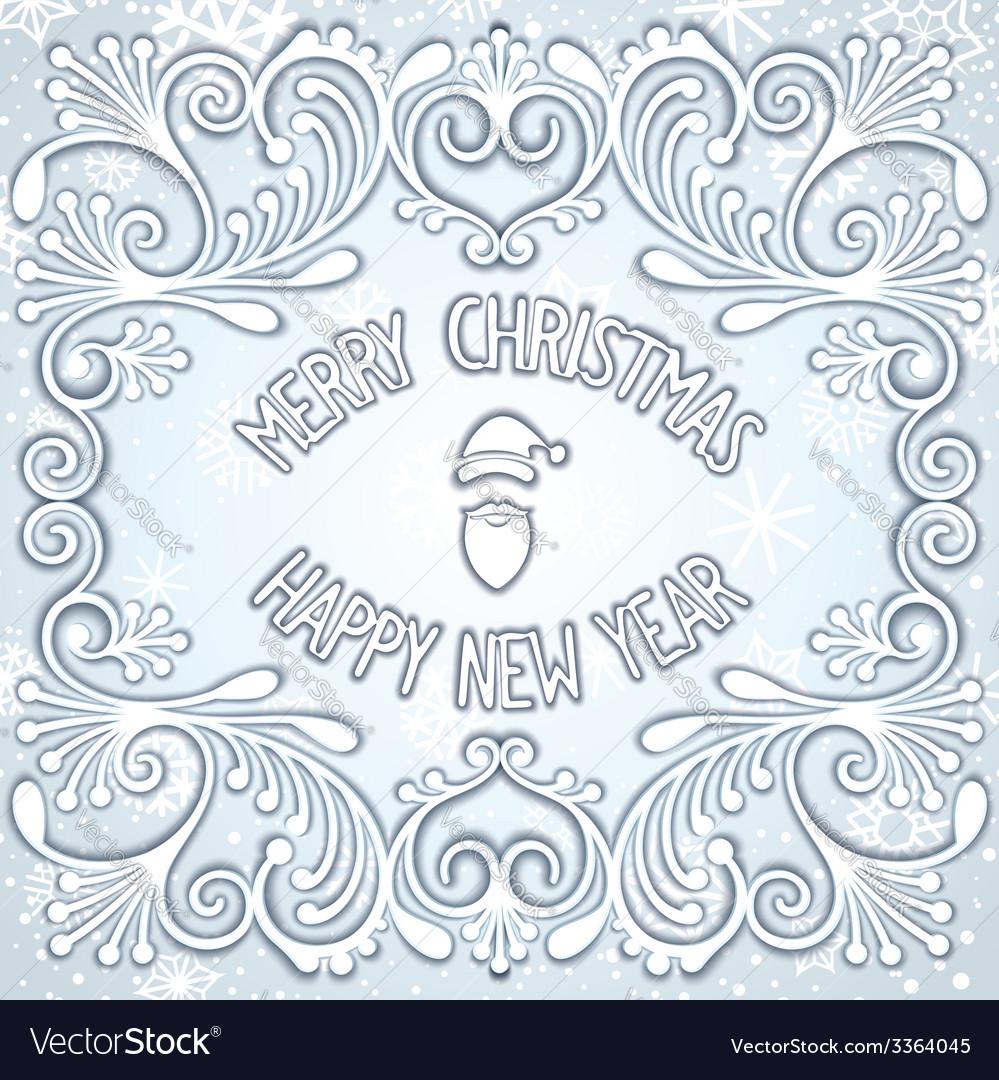 Christmas snowy relief design vector   Price: 1 Credit (USD $1)