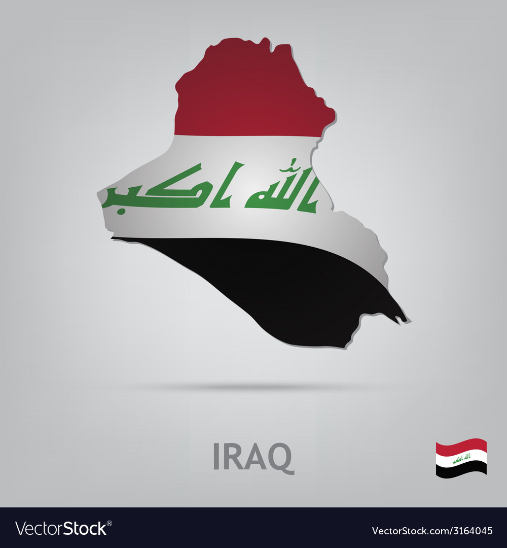 Country iraq vector   Price: 1 Credit (USD $1)