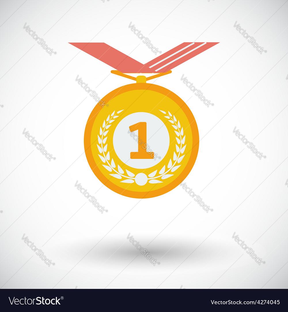 Icon medal vector | Price: 1 Credit (USD $1)