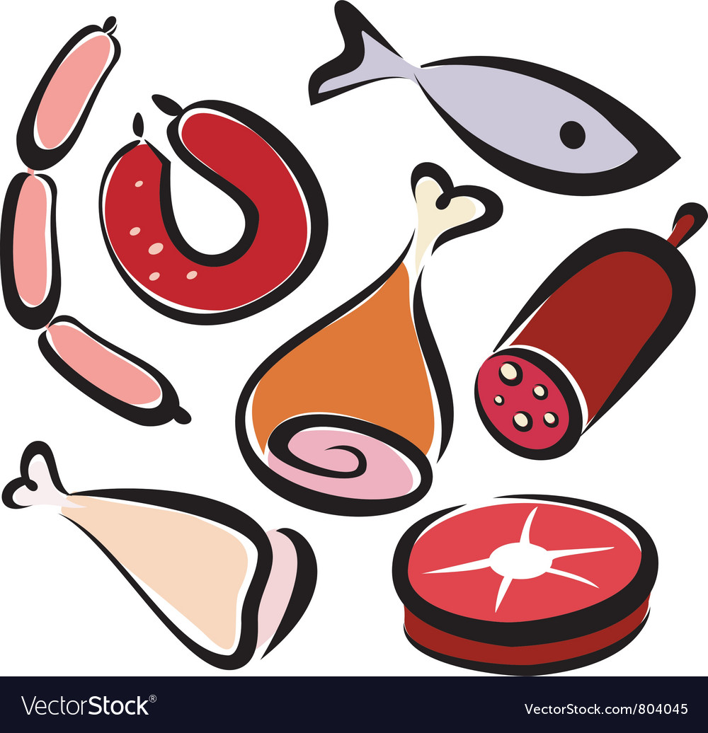 Meat 2 vector | Price: 1 Credit (USD $1)