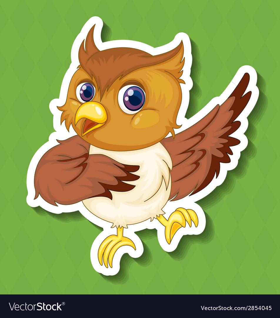 Owlet vector | Price: 1 Credit (USD $1)