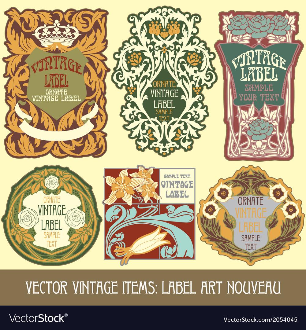 Vintage items vector   Price: 1 Credit (USD $1)