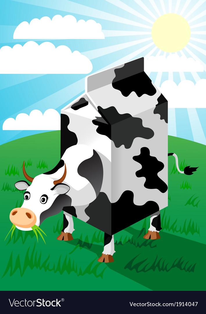 Cow vector | Price: 3 Credit (USD $3)