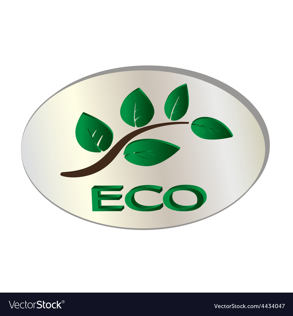 Natural organic leaf icon vector   Price: 1 Credit (USD $1)
