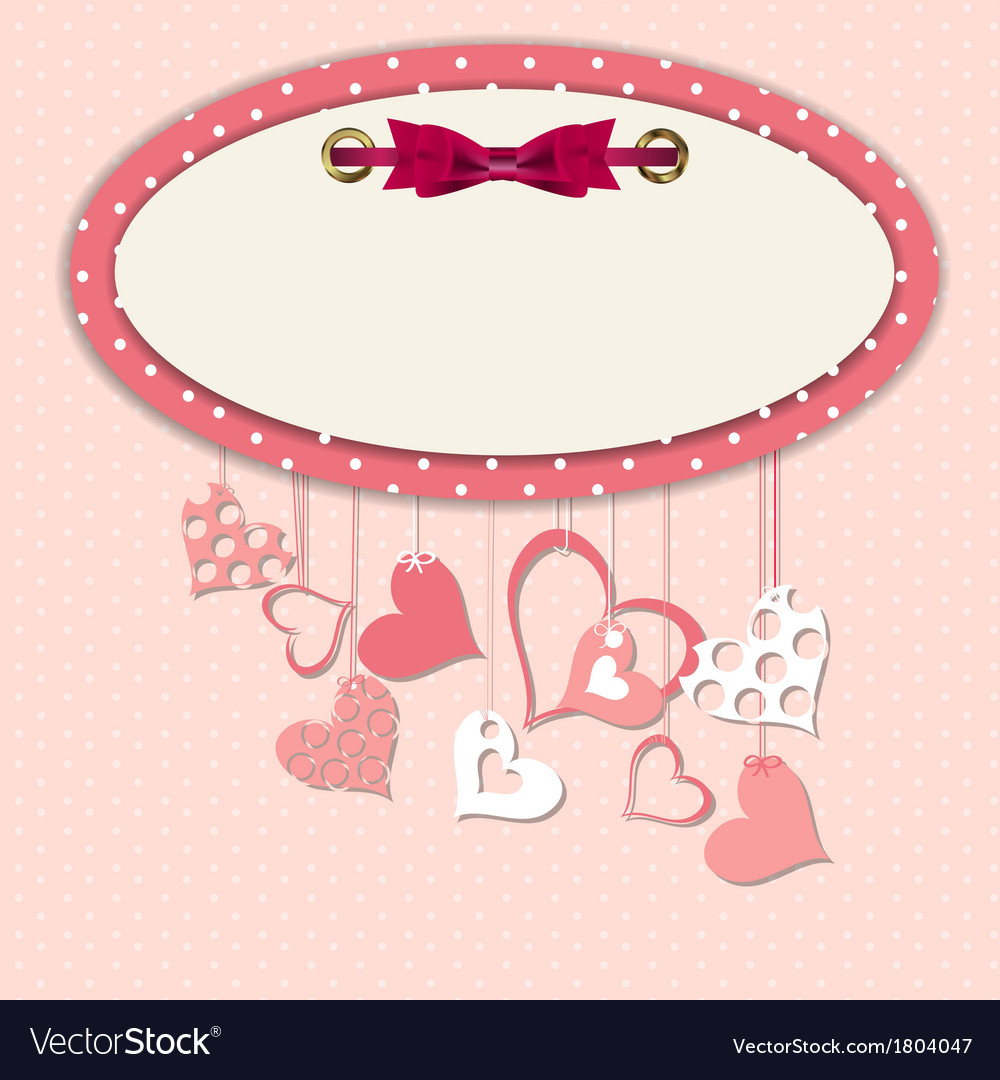 Valentines day heart backgroung vector   Price: 1 Credit (USD $1)