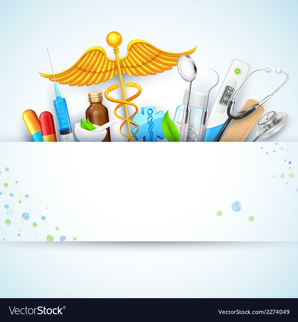 Healthcare and medical background vector | Price: 1 Credit (USD $1)
