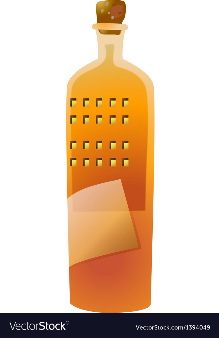 Icon bottle vector | Price: 1 Credit (USD $1)